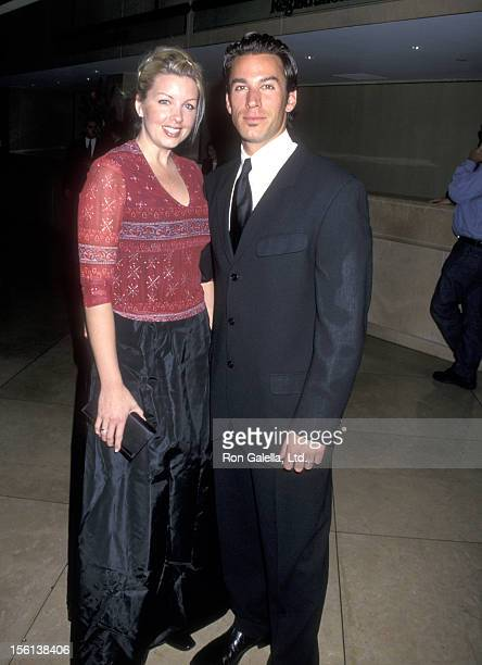 Actor Dan Cortese and Dee Dee Hemby attend the 20th Annual St Jude Children's Research Hospital Gala Benefit on March 2 2000 at Beverly Hilton Hotel...