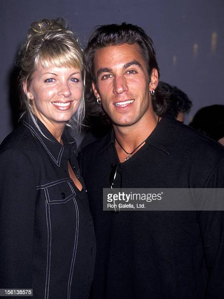 Actor Dan Cortese and Dee Dee Hemby attend ''Tribute to Style' Gala Benefit Permanent Charitites Committee on September 9 1996 at Rodeo Drive in...