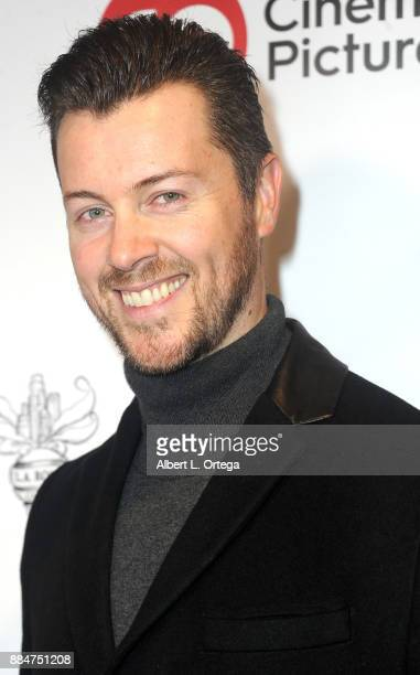 Actor Dan Feuerriegel arrives for the TJ Scott Book Launch For 'In The Tub Volume 2' held at Cinematic Pictures Group Gallery on December 2 2017 in...