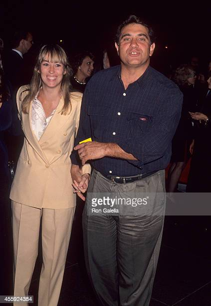 Actor Dan Lauria and wife Eileen Cregg attend A Bronx Tale Westwood Premiere on September 23 1994 at the DGA Theatre in West Hollywood California