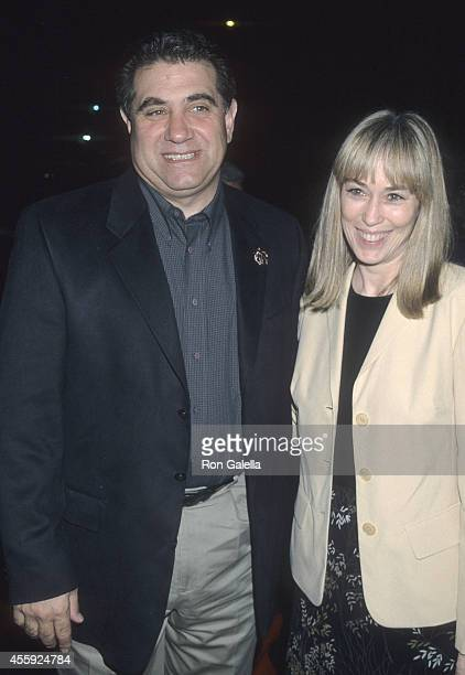 Actor Dan Lauria and wife Eileen Cregg attend the Common Ground West Hollywood Premiere on January 27 2000 at the DGA Theatre in West Hollywood...