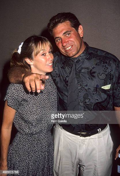 Actor Dan Lauria and wife Eileen Cregg attend the National Veterans Foundation's Fourth Annual Golf Classic on August 10 1992 at MountainGate Country...