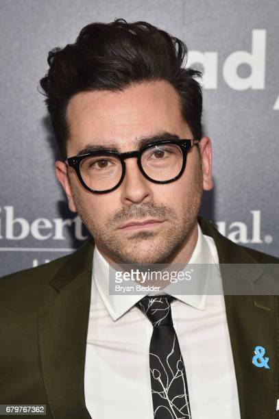 Actor Dan Levy attends 28th Annual GLAAD Media Awards at The Hilton Midtown on May 6 2017 in New York City