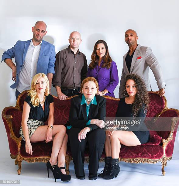 Actor Dan Sanders-Joyce, director/producer Ryan LeMasters, 'All Out Dysfunktion' producer Christina Jo'Leigh, and actor David Bianchi actress...