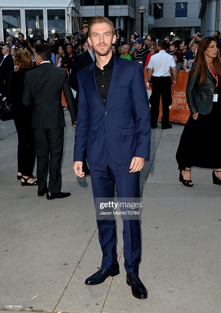 Actor Dan Stevens arrives at 'The Fifth Estate' premiere during the 2013 Toronto International Film Festival on September 5, 2013 in Toronto, Canada.