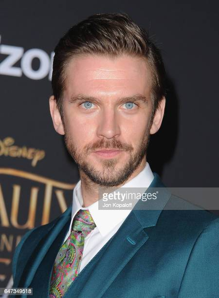 Actor Dan Stevens arrives at the Los Angeles Premiere Beauty And The Beast at El Capitan Theatre on March 2 2017 in Los Angeles California