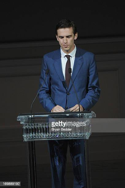 Actor Dan Stevens attends 2013 CFDA FASHION AWARDS Underwritten By Swarovski Show at Lincoln Center on June 3 2013 in New York City