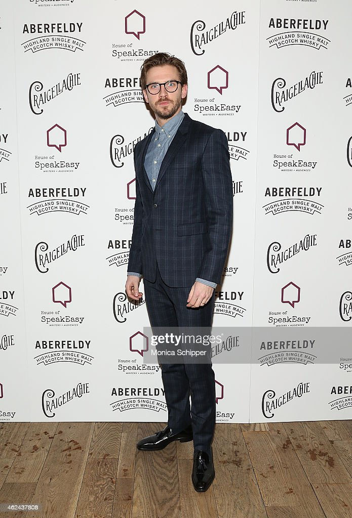 Actor Dan Stevens attends the 2015 House Of SpeakEasy Gala at City Winery on January 28, 2015 in New York City.