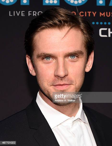 Actor Dan Stevens attends the 2015 New York Spring Spectacular Opening Night at Radio City Music Hall on March 26 2015 in New York City