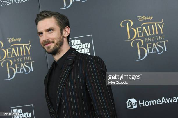 Actor Dan Stevens attends the Beauty And The Beast New York Screening at Alice Tully Hall at Lincoln Center on March 13 2017 in New York City