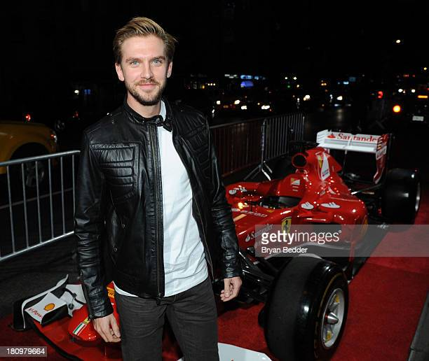 Actor Dan Stevens attends the Ferrari and The Cinema Society Screening of 'Rush' at Chelsea Clearview Cinemas on September 18 2013 in New York City