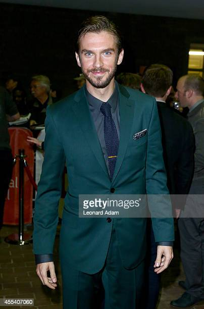Actor Dan Stevens attends The Guest premiere during the 2014 Toronto International Film Festivalat Ryerson Theatre on September 13 2014 in Toronto...