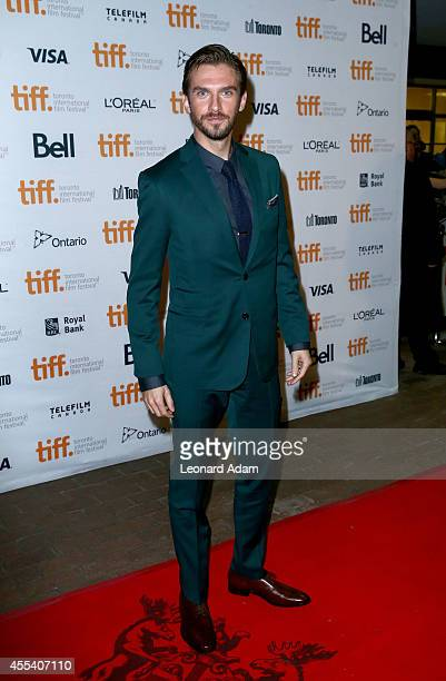 Actor Dan Stevens attends 'The Guest' premiere during the 2014 Toronto International Film Festivalat Ryerson Theatre on September 13 2014 in Toronto...