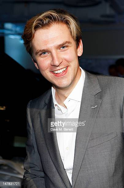 Actor Dan Stevens attends the launch of the Aston Martin Vanquish at the London Film Museum on July 4 2012 in London England