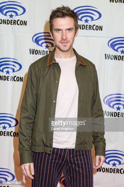 Actor Dan Stevens attends the Legion photocall at WonderCon 2019 Day 1 at Anaheim Convention Center on March 29 2019 in Anaheim California