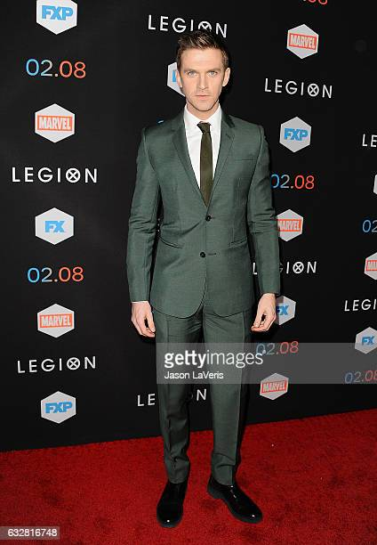 Actor Dan Stevens attends the premiere of Legion at Pacific Design Center on January 26 2017 in West Hollywood California