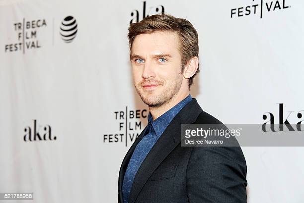 Actor Dan Stevens attends 'The Ticket' Premiere 2016 Tribeca Film Festival at SVA Theatre on April 16 2016 in New York City