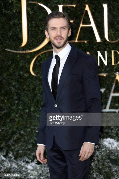 Actor Dan Stevens attends UK launch event for Beauty And The Beast at Spencer House on February 23 2017 in London England