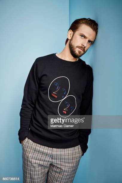 Actor Dan Stevens from Legion is photographed for Entertainment Weekly Magazine on July 20 2017 at Comic Con in San Diego California