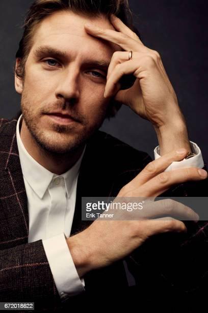 Actor Dan Stevens from 'Permission' pose at the 2017 Tribeca Film Festival portrait studio on April 22 2017 in New York City