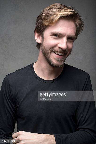 Actor Dan Stevens is photographed at the Sundance Film Festival 2014 for Self Assignment on January 25 2014 in Park City Utah
