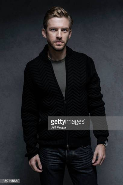 Actor Dan Stevens is photographed at the Toronto Film Festival on September 6 2013 in Toronto Ontario