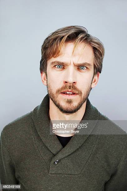 Actor Dan Stevens is photographed for Entertainment Weekly Magazine on January 25 2014 in Park City Utah