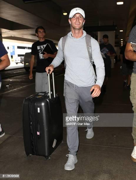 Actor Dan Stevens is seen on July 11 2017 in Los Angeles California