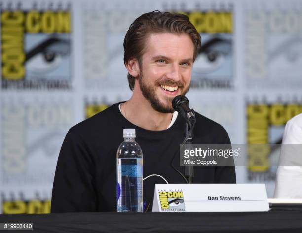 Actor Dan Stevens speaks onstage at the 'Legion' screening and QA during ComicCon International 2017 at San Diego Convention Center on July 20 2017...