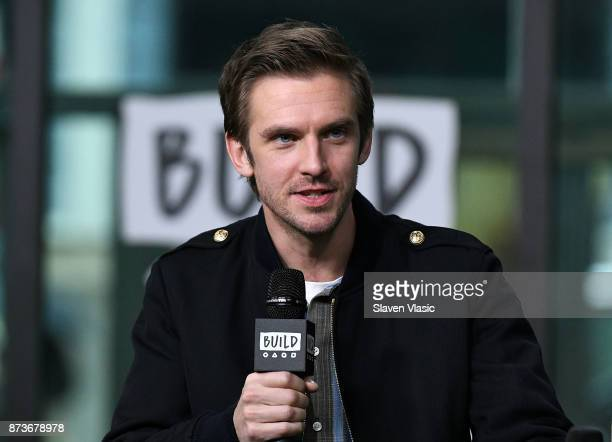 Actor Dan Stevens visits Build to discuss 'The Man Who Invented Christmas' at Build Studio on November 13 2017 in New York City