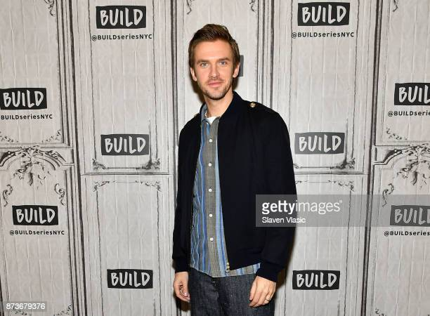 Actor Dan Stevens visits Build to discuss The Man Who Invented Christmas at Build Studio on November 13 2017 in New York City