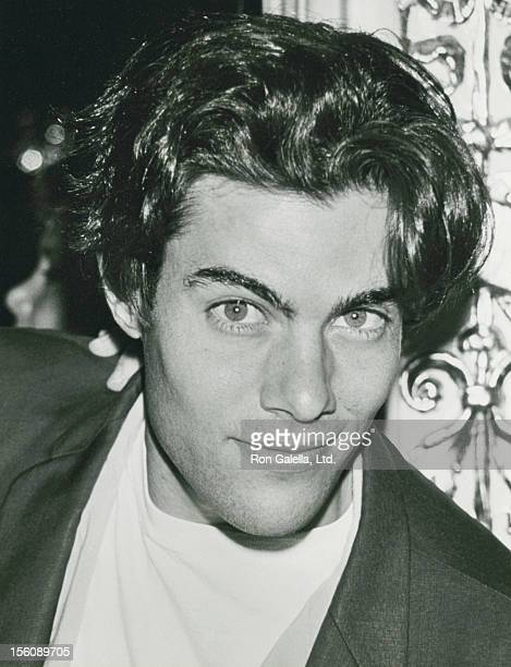 Actor Dana Ashbrook attending 90th Birthday Party For Helen Hayes on October 22 1990 at the Plaza Hotel in New York City New York