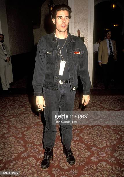 Actor Dana Ashbrook attends the Banff Norquay Celebrity Sports Invitational on January 10 1991 at the Banff Springs Hotel in Banff Albert Canada