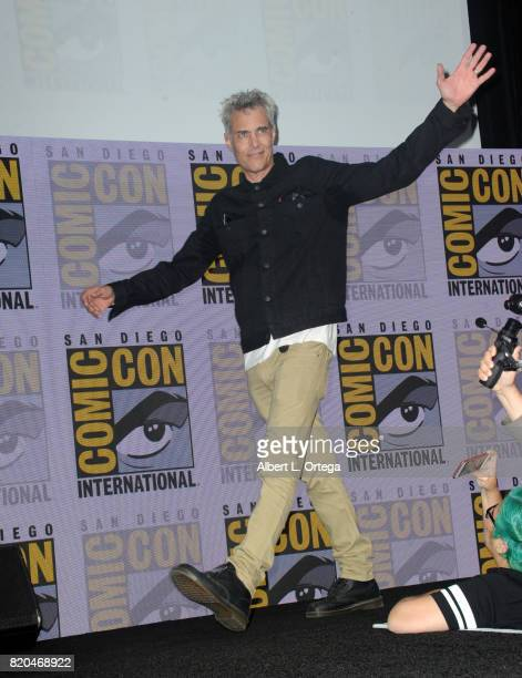 Actor Dana Ashbrook attends 'Twin Peaks A Damn Good Panel' during ComicCon International 2017 at San Diego Convention Center on July 21 2017 in San...