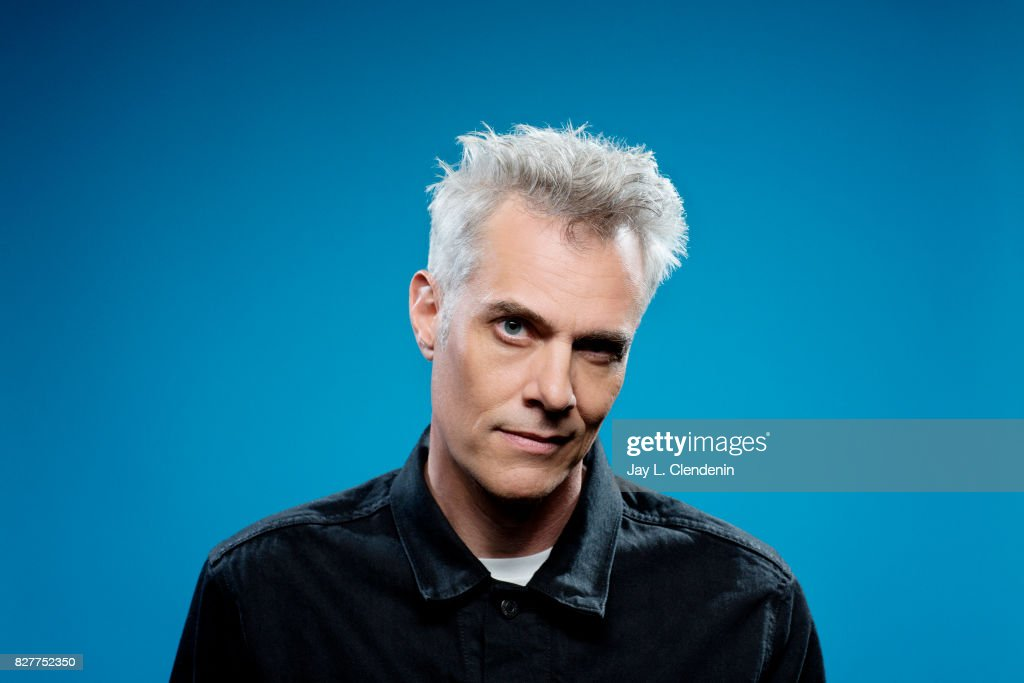 Actor Dana Ashbrook from the television series 'Twin Peaks,' is photographed in the L.A. Times photo studio at Comic-Con 2017, in San Diego, CA on July 21, 2017.