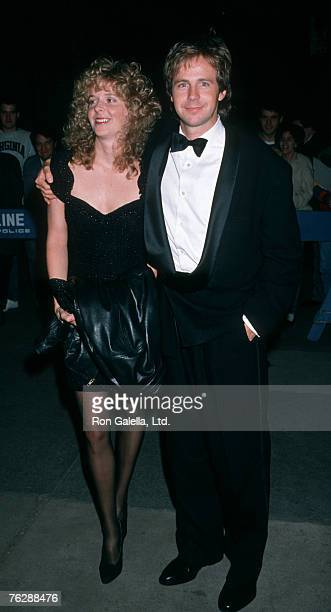 Actor Dana Carvey and wife Paula Swaggerman attending 15th Anniversary Gala for Saturday Night Live on September 24 1989 at Rockefeller Center in New...