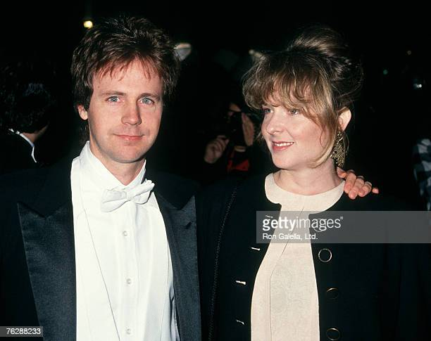 Actor Dana Carvey and wife Paula Swaggerman attending 5th Annual Comedy Awards on March 9 1991 at Shrine Auditorium in Los Angeles California