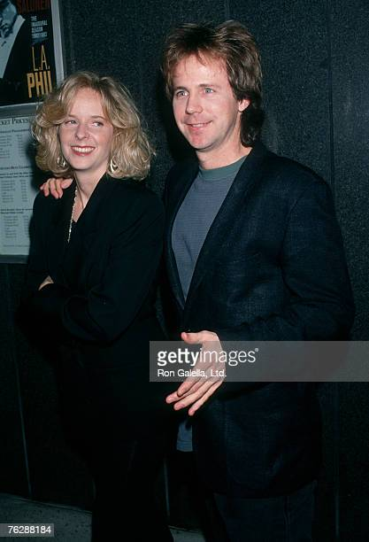 Actor Dana Carvey and wife Paula Swaggerman attending Children's Health Project Benefit on March 1 1993 at Dorothy Chandler Pavilion in Los Angeles...