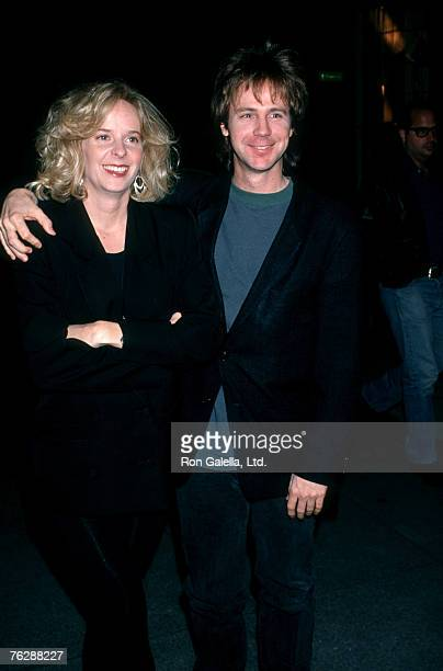 Actor Dana Carvey and wife Paula Swaggerman attending the premiere of Trapped in Paradise on November 21 1994 at The Academy Theater in Beverly Hills...