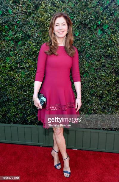 Actor Dana Delany attends the 50th anniversary screening of 'In the Heat of the Night' during the 2017 TCM Classic Film Festival on April 6 2017 in...