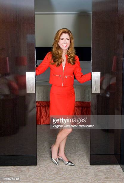 Actor Dana Delany is photographed for Paris Match on February 6 2013 in Paris France