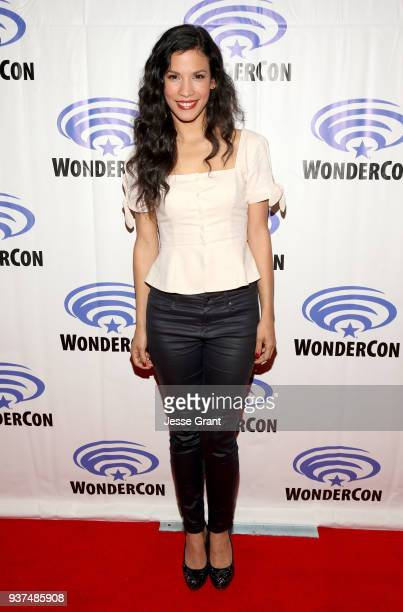 Actor Danay Garcia of AMC's 'Fear of the Walking Dead' attends WonderCon at Anaheim Convention Center on March 24 2018 in Anaheim California