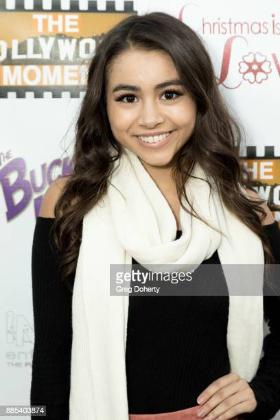 Actor / Dancer / Singer Ciara A Wilson attends The Salvation Army Celebrity Kettle Kickoff Red Kettle Hollywood at the Original Farmers Market on...