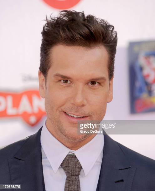 Actor Dane Cook arrives at the Los Angeles premiere of 'Planes' at the El Capitan Theatre on August 5 2013 in Hollywood California