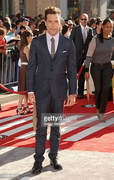 Actor Dane Cook arrives at the Los Angeles premiere of Planes at the El Capitan Theatre on August 5 2013 in Hollywood California