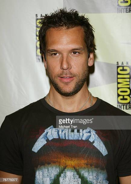 Actor Dane Cook arrives to the Lionsgate press panel at Comic-Con at the San Diego Convention Center on July 26, 2007 in San Diego, California.