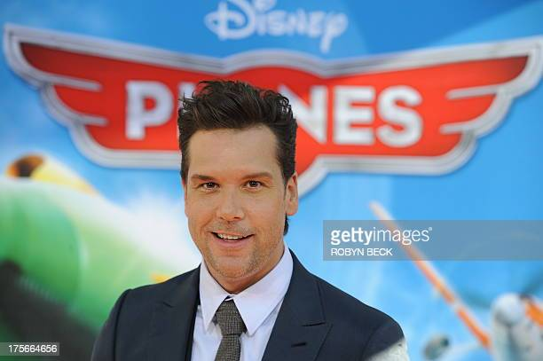 Actor Dane Cook at the premiere of Disney's 'Planes' at the El Capitan Theatre on August 5 2013 in Hollywood California AFP PHOTO / ROBYN BECK