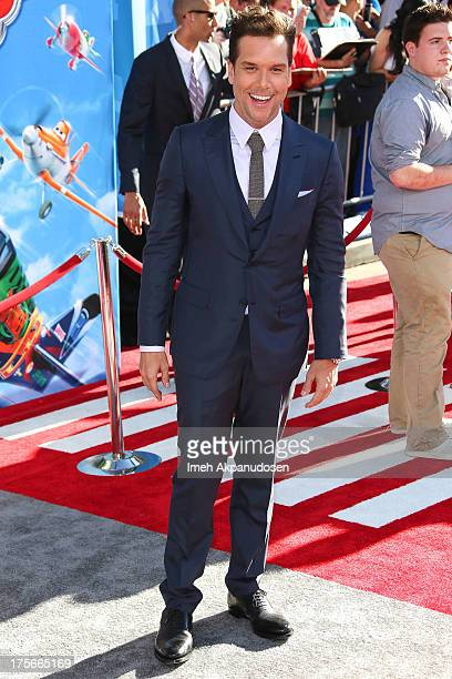 Actor Dane Cook attends the premiere of Disney's 'Planes' at the El Capitan Theatre on August 5 2013 in Hollywood California