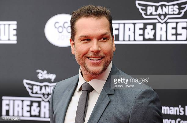 Actor Dane Cook attends the premiere of 'Planes Fire Rescue' at the El Capitan Theatre on July 15 2014 in Hollywood California