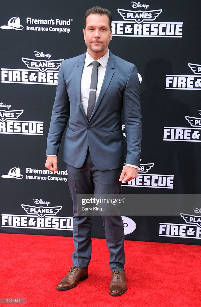 Actor Dane Cook attends the premiere of 'Planes: Fire & Rescue' on July 15, 2014 at the El Capitan Theatre in Hollywood, California.